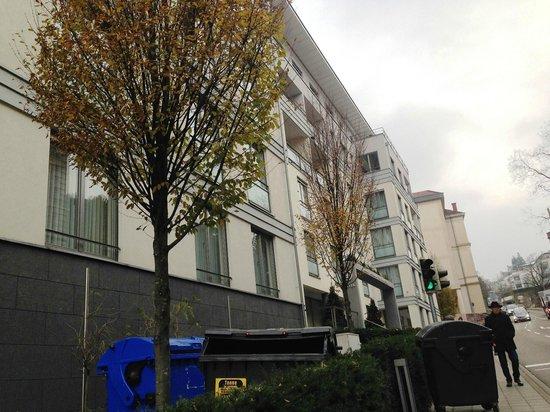 Aqua Aurelia Suitenhotel : Вид на отель с улицы