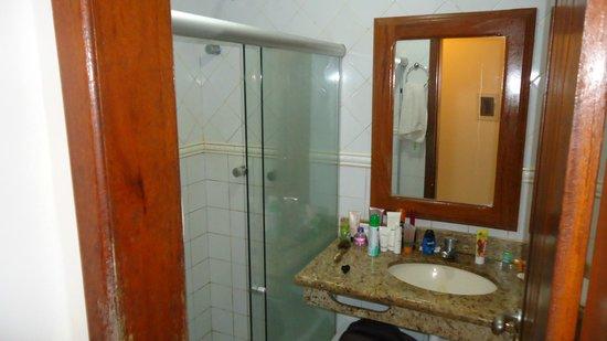 Hotel Terra Brasil: banheiro