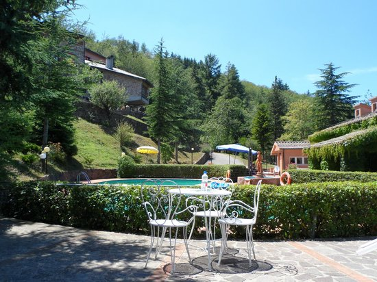 Hotel Prategiano - Maremma Toscana: Pool vom Rifugio Prategiano