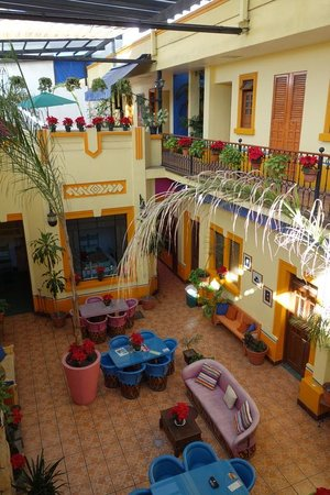 Casa Vilasanta: courtyard