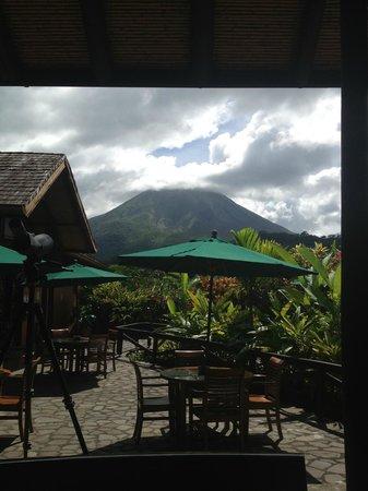 Nayara Resort Spa & Gardens: View from the main restaurant.