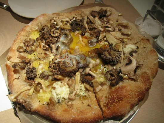 Best Murrels Duck Eggs Pizza Ever Picture Of Abc Kitchen
