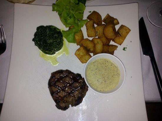 """DaVinci Restaurant Nai Harn : Steak """"Da Vinci"""""""