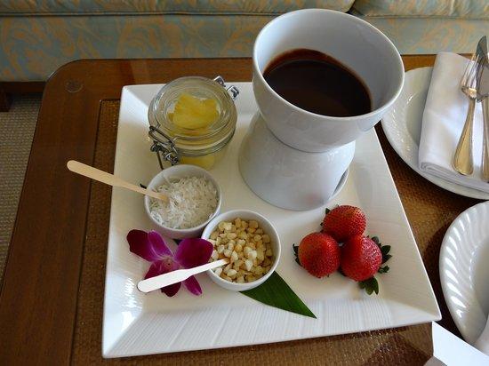 Four Seasons Resort Maui at Wailea: Surprise waiting for us