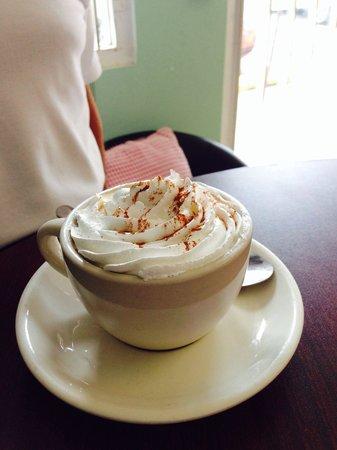 Verde Menta Cafe: Great coffee!
