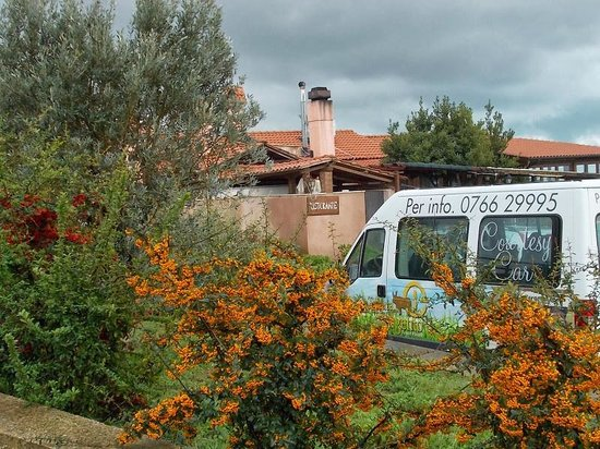Tenuta dell'Argento Resort: Courtesy Bus and landscaping