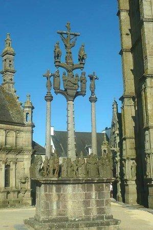 Les 7 calvaires monumentaux de Bretagne: Plougastel Daoulas: Francia: Saint Thégonnec