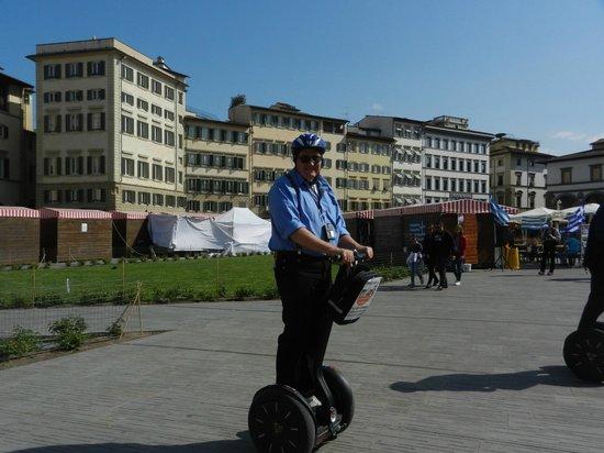 Italy Segway Tours: Segway tour of Firenze