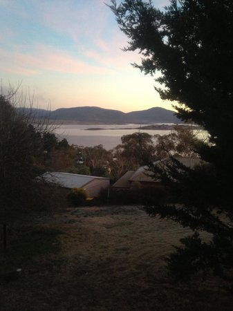 Snowy Valley Resort: View from our room