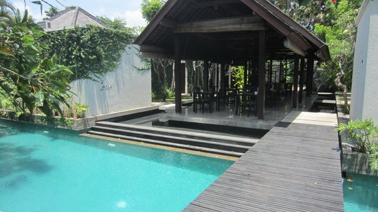 The Amala: Pool and Dining Area