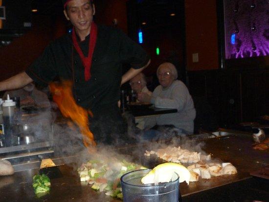 Fuji Sushi & Steak House: On fire!