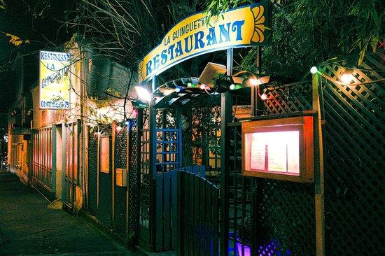 La Guinguette by night