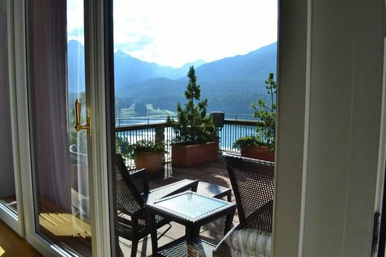Badrutt's Palace Hotel: St Moritz