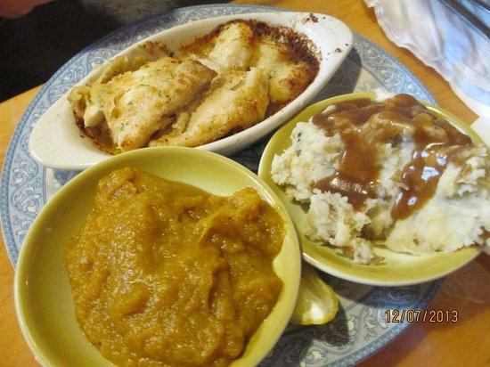 Remington's Restaurant: Luncheon Haddock & Vegtables