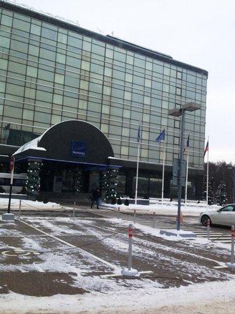 Hotel Novotel Moscow Sheremetyevo Airport: Отель зимой