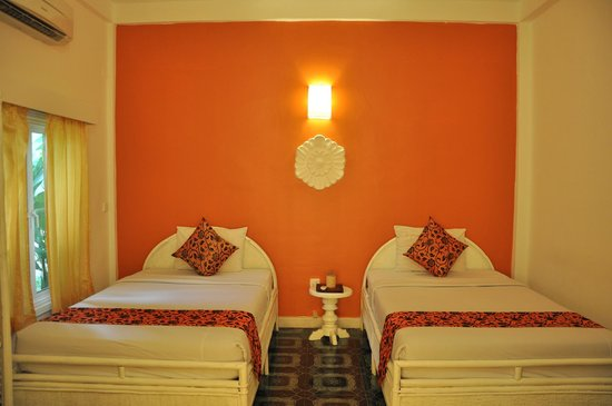 Frangipani Villa Hotel, Siem Reap: Спальня