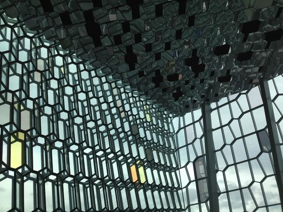 Harpa Reykjavik Concert Hall and Conference Centre: Walls/Ceiling Detail