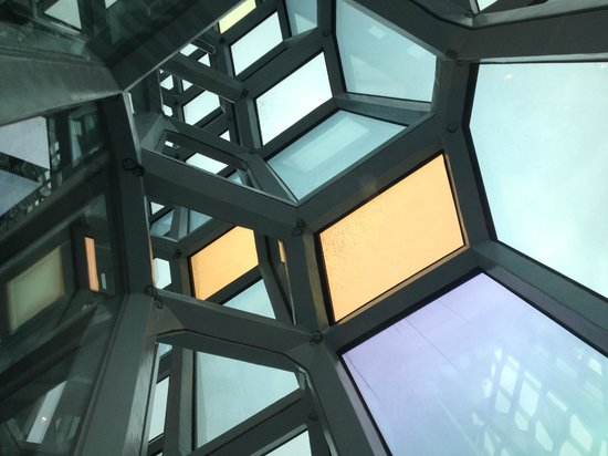 Harpa Reykjavik Concert Hall and Conference Centre: Detail of window structure