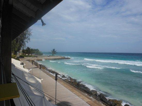Worthing Beach - front of Carib Beach Bar