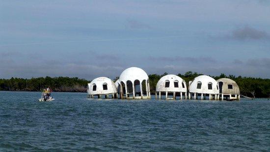 Cape Romano: No beach anymore....
