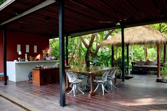 Maison Polanka : Restaurant und Lobby
