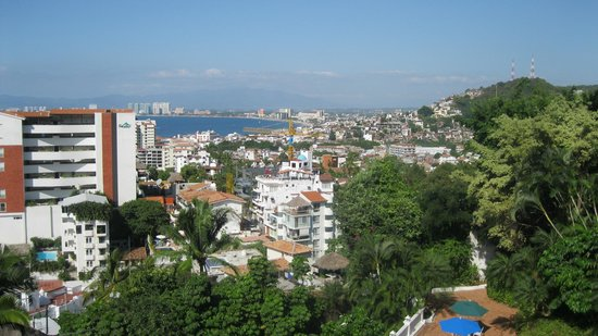 Villas Mediterraneas: Fantastic view of Puerto Vallarta