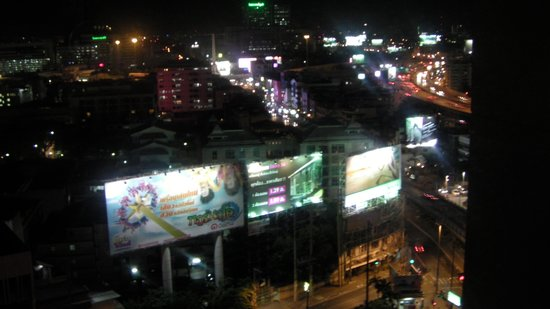 Century Park Hotel : Night view from room