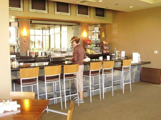 Aliante Golf Club: Getting coffee at the clubhouse
