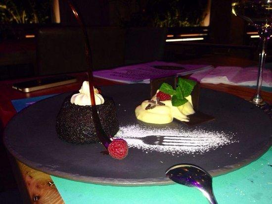 Pesco Wien : Tortino al cioccolato