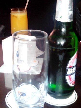 SENTIDO Le Sultan: Biere a 6 dinars