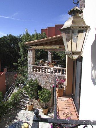 Casa Estrella de la Valenciana : the hotel