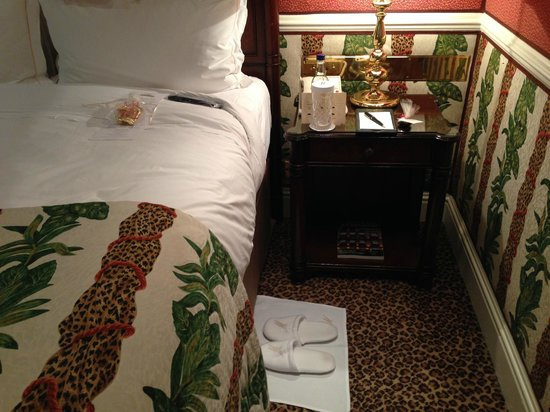 The Milestone Hotel and Residences: Turndown service