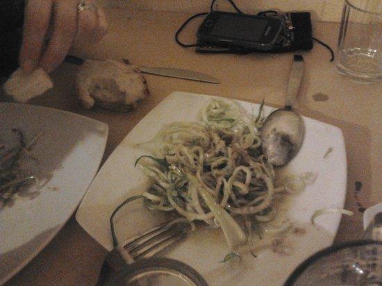 Osteria Cacio e Pepe in Trastevere : puntarelle