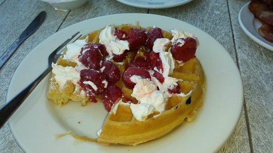 Gulf Drive Cafe : belgium waffle - very yummy