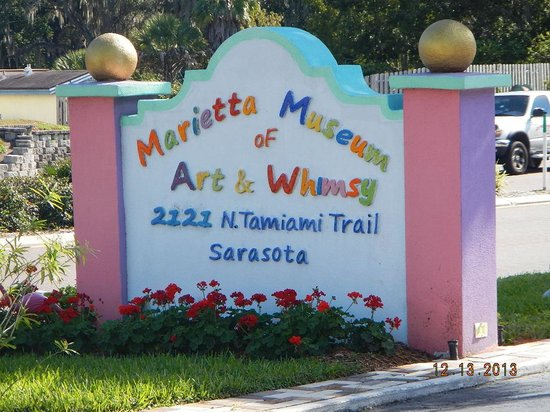 Marietta Museum-Art & Whimsy: street sign