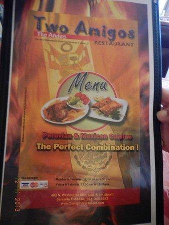 Two Amigos Restaurant Sarasota Fl