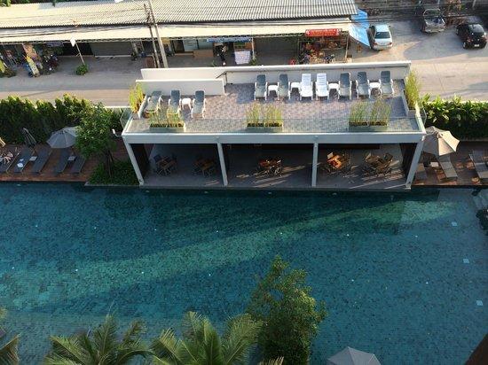 G Hua Hin Resort & Mall : View from Balcony