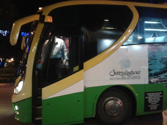 Sutera Harbour Resort (The Pacific Sutera & The Magellan Sutera): Shuttle bus