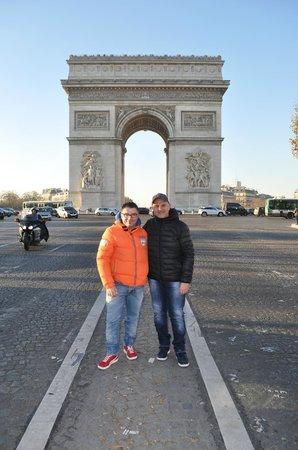 Hotel Darcet: Arco di Trionfo