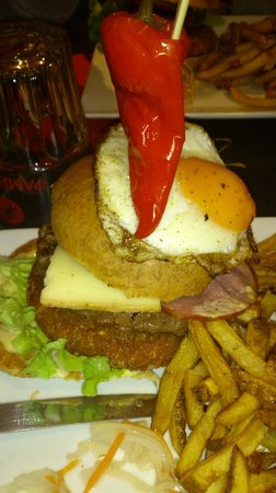 Le Cap'Tain : burger