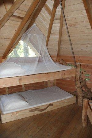 Le Domaine de la Dombes : Le lit pour enfant