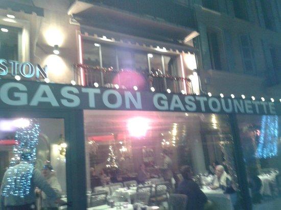 Gaston Gastounette: entrée du restaurant