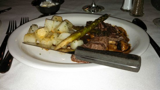 The  Virginian Restaurant: Elk Tenderloin
