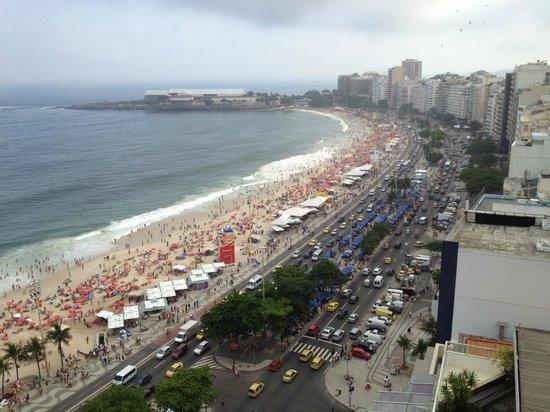 Rio Othon Palace Hotel: Apartamento Lateral - Vista