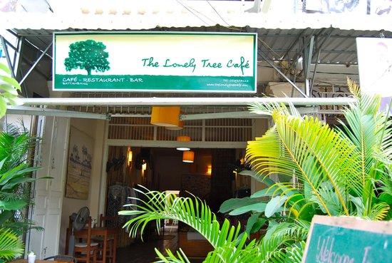 The Lonely Tree Cafe: el restaurante