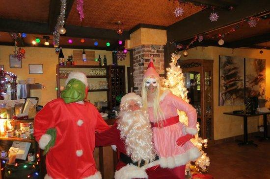 Alchemist : Santa, The Grinch & Cindy Lou Who surprised us