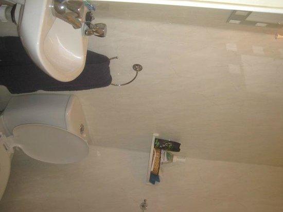 Newbury Hotel: Bijoux sink