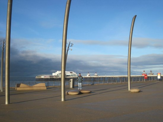 Blackpool North Pier - a 5 minute walk from the Newbury Hotel