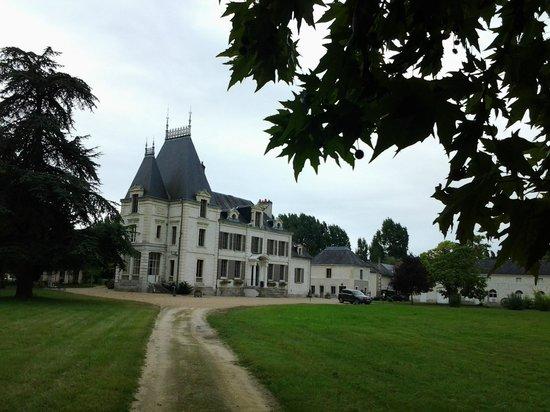 Chateau de la Coutanciere : Schloß und Park