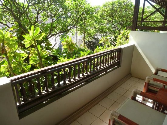 Kuta Seaview Boutique Resort & Spa: Blick vom Balkon